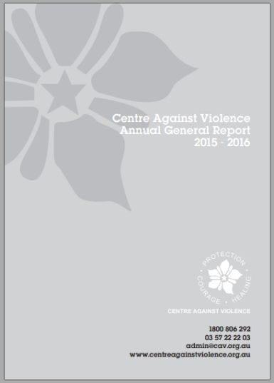 Centre Against Violence Annual Report